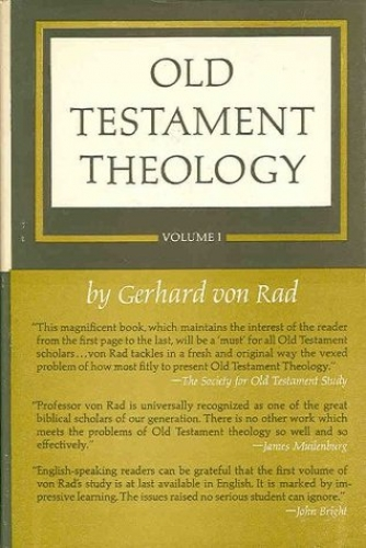 Old Testament Theology Volume 1 (Used)
