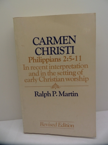 Carmen Christi Philippians 2: 5-11 (Used)