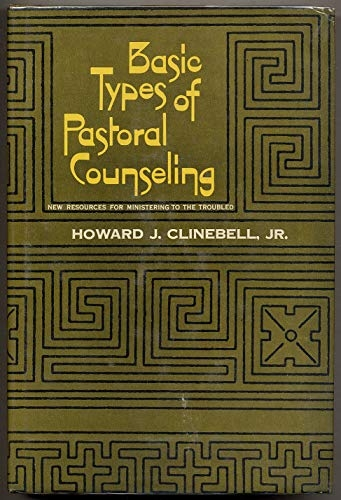 Basic Types of Pastoral Counselling (Used)