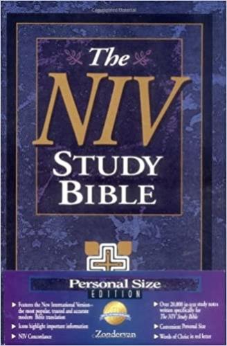 NIV Study Bible  (Used)