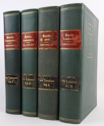 Popular Commentary of the Bible 4 Volumes (Used)