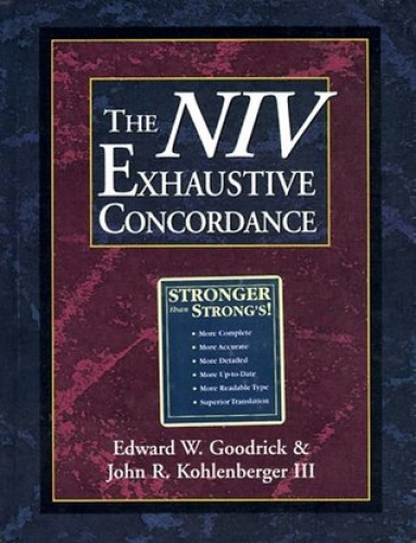 The NIV Exhaustive Concordance (Used)