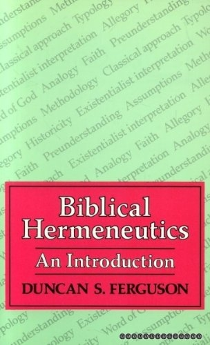 Biblical Hermeneutics (Used)